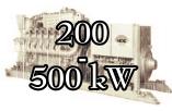 Leistungsklasse 200 - 500 kW