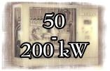 Leistungsklasse 50 - 200 kW