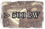 Leistungsklasse über 500 kW
