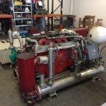 BHKW-Aggregat/Schaltanlage (hinten)